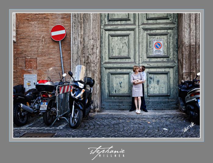 Irina & Max Piazza Eustachio