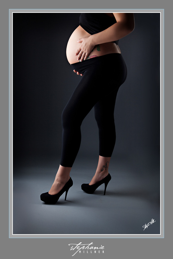 maternity, heels, leggings, studio
