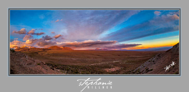 Another gorgeous Atacama sunset in Guatin, outside San Pedro de Atacama