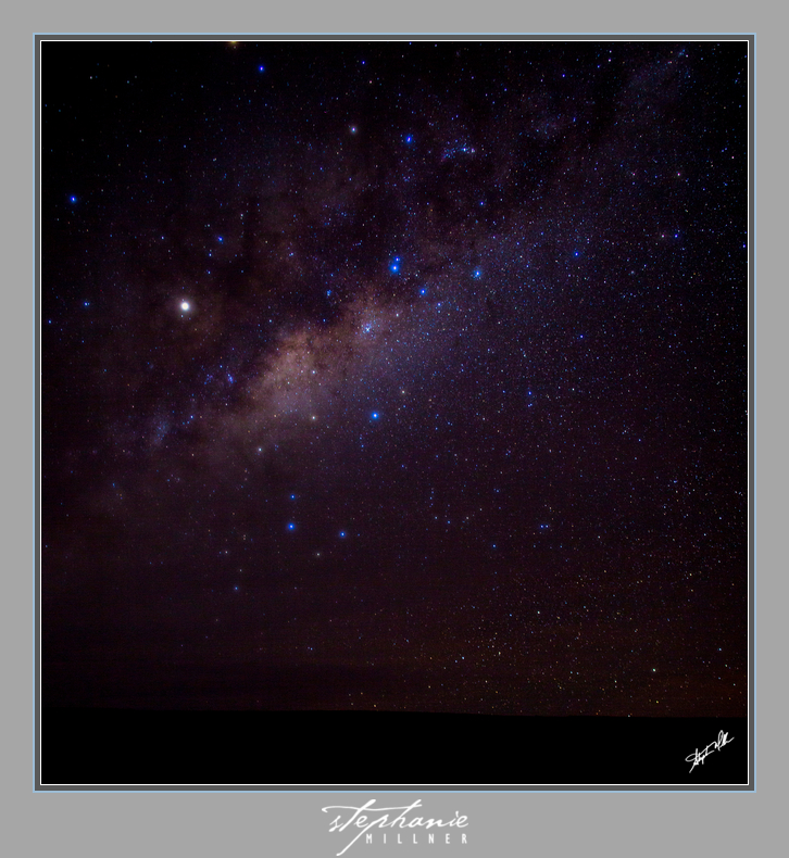 The Milky Way as seen from San Pedro de Atacama. It really is THAT dark there!